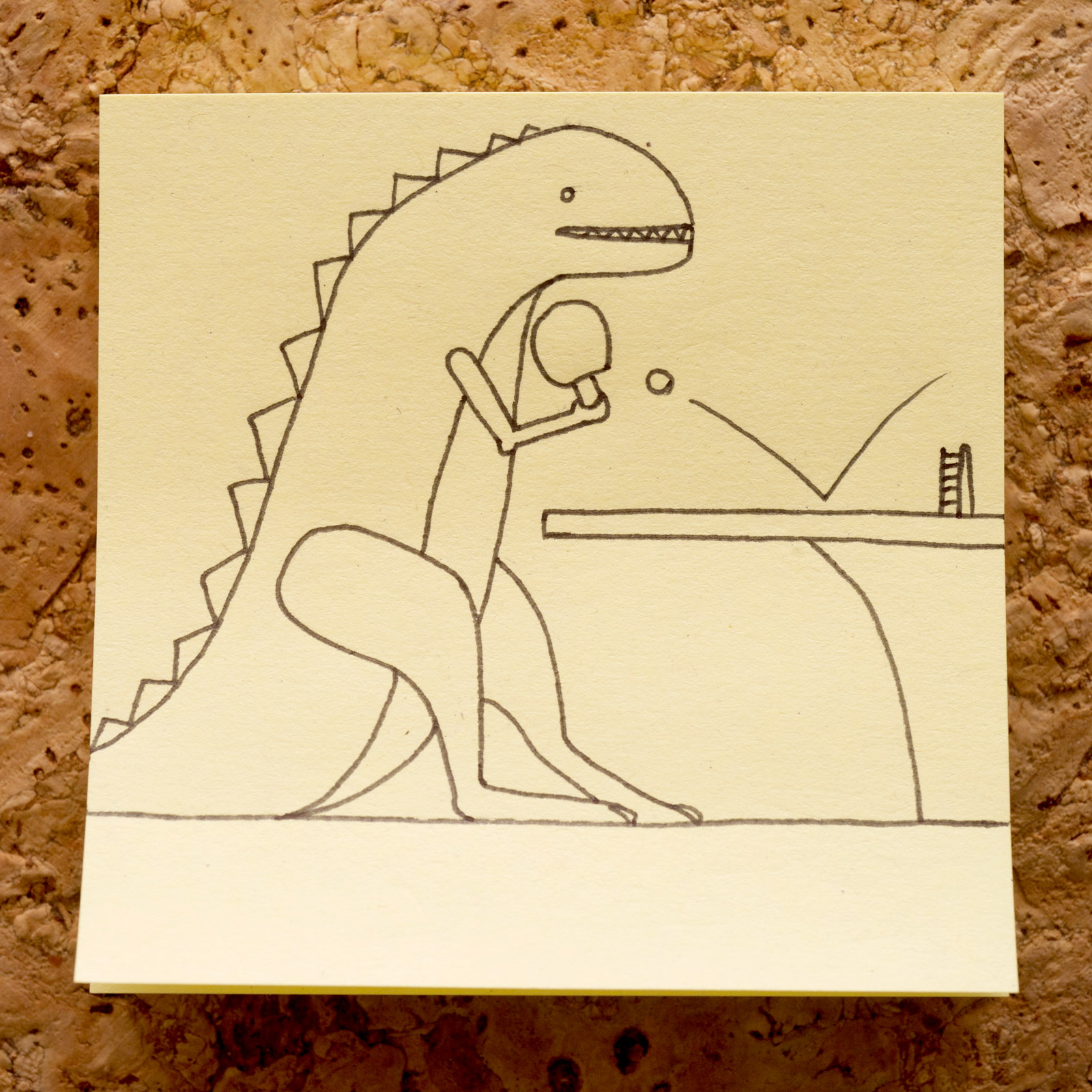 T-Rex Table Tennis
