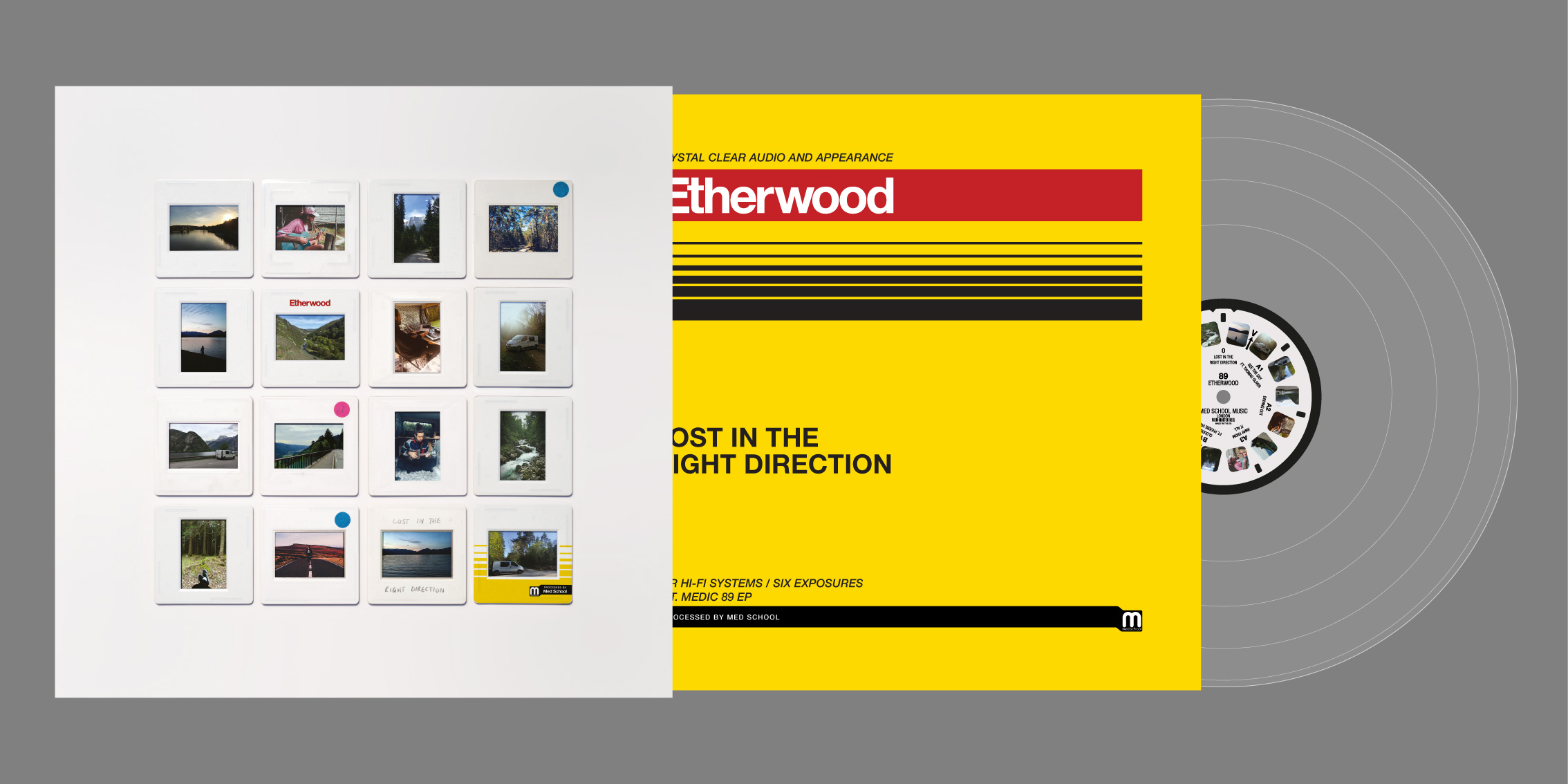 Etherwood's Lost In The Right Direction packaging