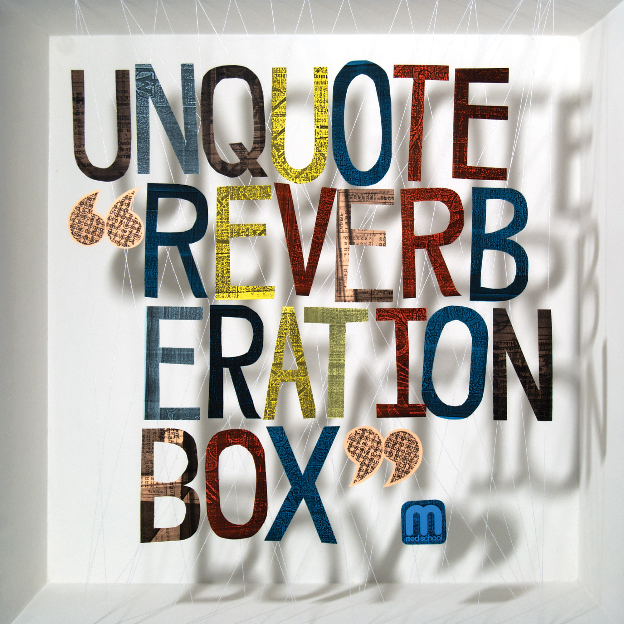 Reverberation Box is probably my favourite record cover I ever made